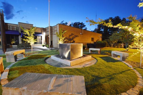Memorial Garden and Water Cube