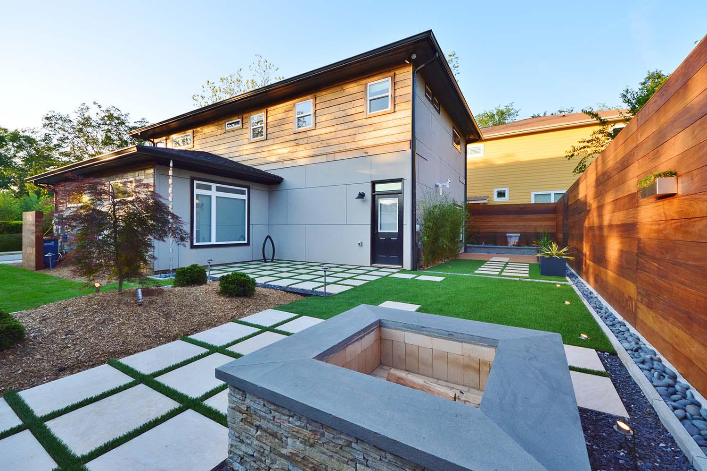 Modern Home Landscape Design